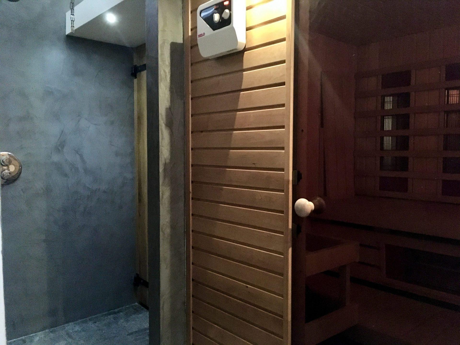 B&B Darthuizerpoort sauna douche