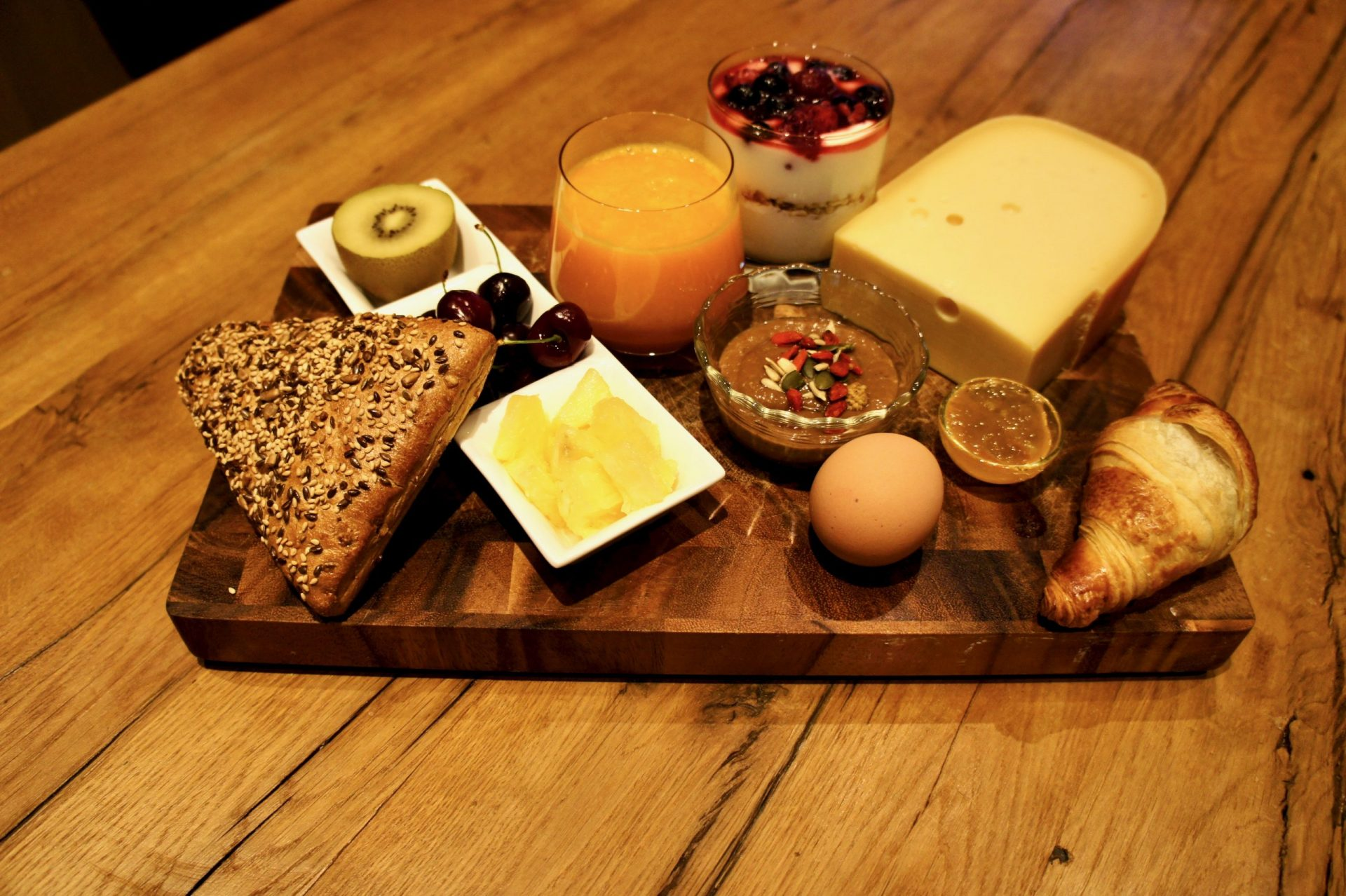 B&B Darthuizerpoort ontbijt